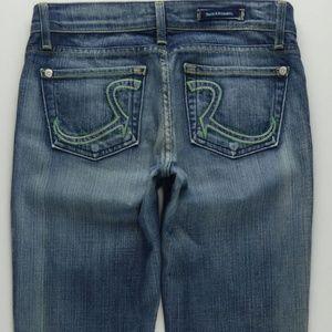1996baf732 Rock   Republic Roth Boot Cut Jeans Womens 26 B570